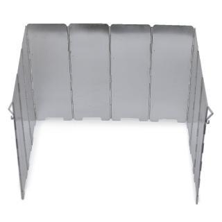 【DIBOTE迪伯特】輕量鋁合金10片擋風板(附收納袋)/