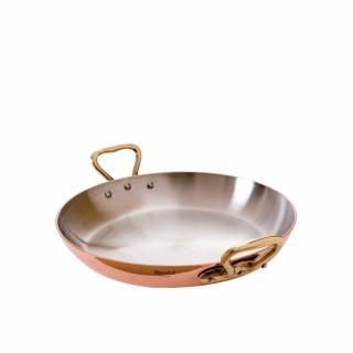 【法國Mauviel】紅銅雙耳淺鍋(16cm)(雙耳淺鍋)