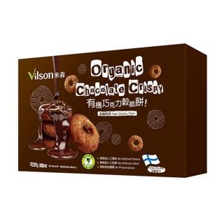 【米森】有機巧克力穀脆餅(60公克/盒)