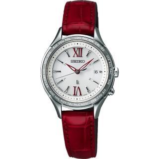 【SEIKO】LUKIA 夢想羅馬太陽能電波腕錶(1B25-0AH0R SSVV013J)