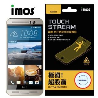 【iMOS Touch Stream】HTC One M9 上下段Dot View保護貼(霧面 含鏡頭)