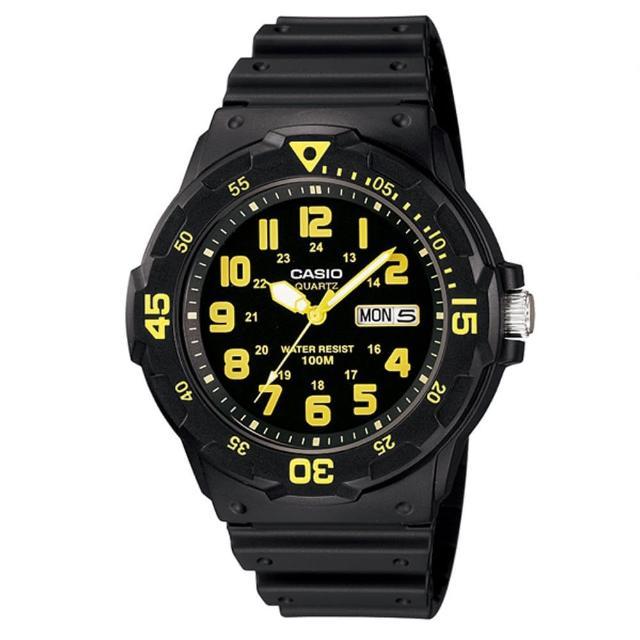 【CASIO】潛水風DIVER LOOK系列錶(MRW-200H-9B)排行推薦
