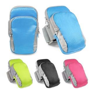 人體工學機能雙袋5.7吋運動手機臂套