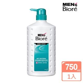【MENS Biore】男性專用茶樹清爽沐浴乳 茶樹清爽(750ml)