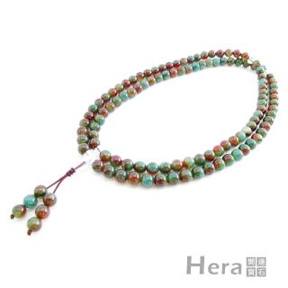 【Hera赫拉】特選三彩玉髓(唸珠/108顆)