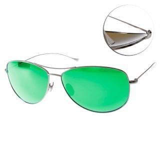 【EOS太陽眼鏡】鈦合金系列偏光水銀鏡面款(金-綠#EOSJ2002AS L06)