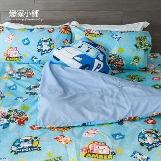 【戀家小舖】雙人四件式床包被套組(多款超可愛卡通)
