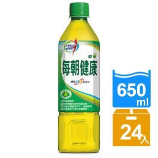 【每朝健康】每朝健康綠茶650ml-24入(榮獲三項國家健康認證)