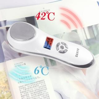 【SAMPO 聲寶】深層震動冷熱美顏儀 FY-Z1512L(溫熱美容導入儀)