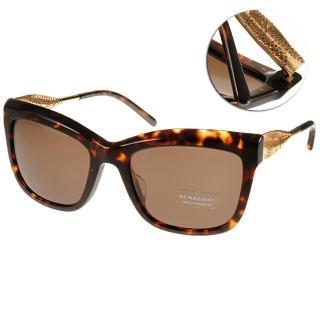【BURBERRY太陽眼鏡】Gabardine系列經典女款眼鏡(琥珀#BU4207F 300273)