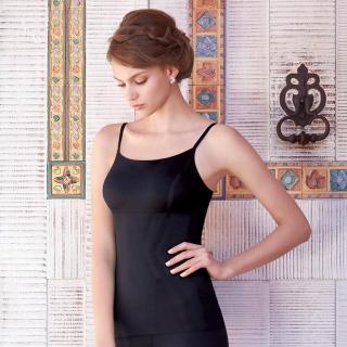 【曼黛瑪璉】美型顯瘦 細肩帶平口小可愛S-XL(黑)