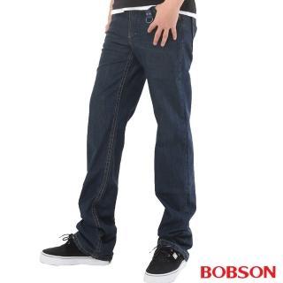 【BOBSON】男款輕量中直筒牛仔褲(1720-53)