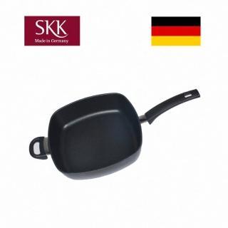 【德國SKK】Titanium 2000 Plus 鑄造深平底鍋28x28cm方