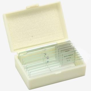 【加價購】10片裝-玻璃切片標本組-附收納盒