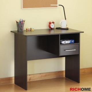 【RICHOME】哥德簡單書桌/工作桌/電腦桌(台灣製)