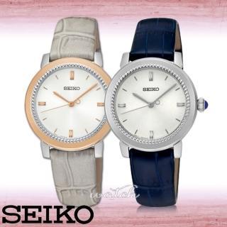 【SEIKO 精工】新品上市_簡約優雅指針型_女錶(SRZ451P1/ SRZ452P1)