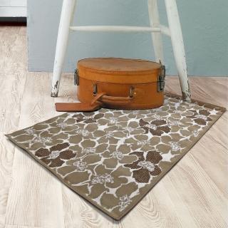 范登伯格 圓舞曲 花花世界絲質地毯-70x105cm