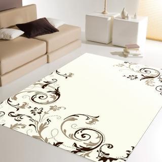 【范登伯格】圓舞曲 蔓藤飛舞絲質地毯(100x140cm)