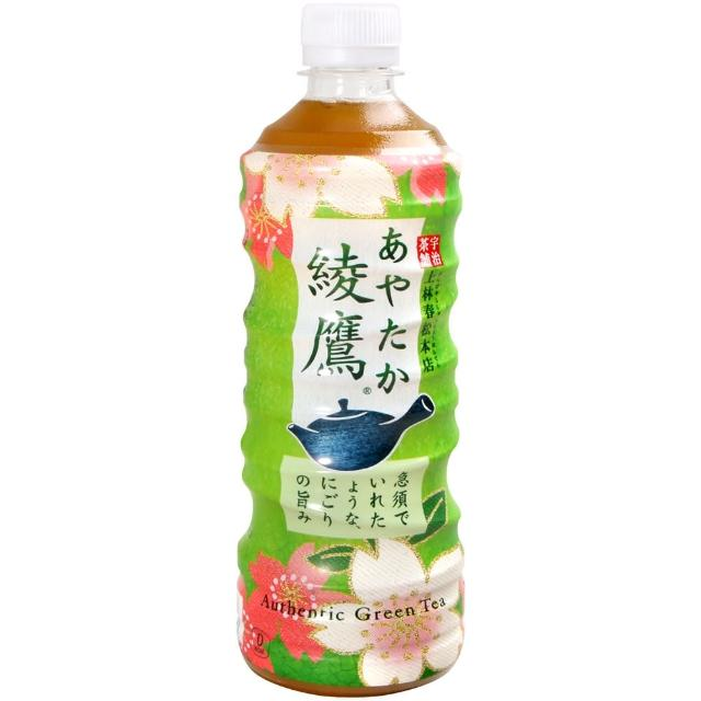 【Coca-Cola】綾鷹綠茶飲料(525ml)
