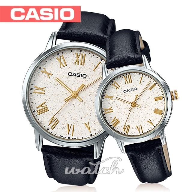 【CASIO 卡西歐】送禮首選_甜蜜浪漫情人對錶(MTP-TW100L+LTP-TW100L)