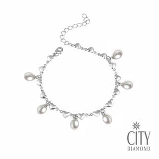 【City Diamond引雅】珍愛 珍珠手鍊