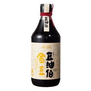 ~豆油伯~金豆醬油500ml 在地農民契作非基改黃豆 黑豆 小麥~