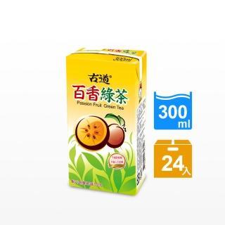 【古道】百香綠茶300ml*24瓶