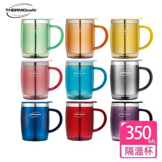 【THERMOcafe凱菲】不鏽鋼真空隔溫杯0.35L(DOM-350SH)