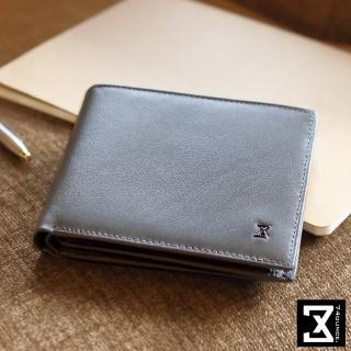 【74盎司】Plain 真皮橫式短夾_零錢袋(N-499)