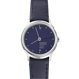 【MONDAINE瑞士國鐵】設計系列限量腕錶(海軍藍/26mm)