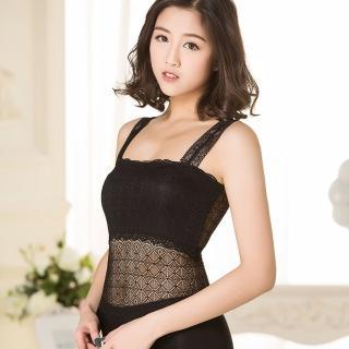 【Osun】蕾絲小可愛背心 夏季百搭蕾絲雙肩-中 2入(黑/白 #2071/CE-176)