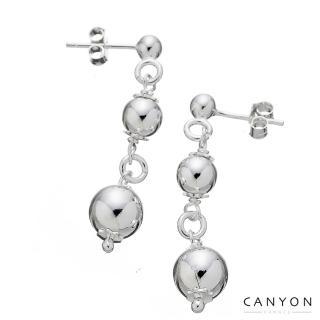 【CANYON】閃亮銀珠耳環