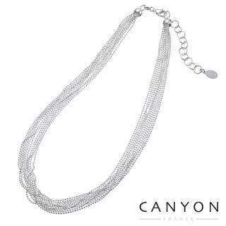 【CANYON】浪漫多串銀珠項鍊4897