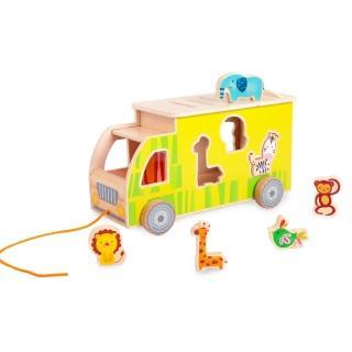 【classic world】動物遊園車組(兒童趣味玩具)