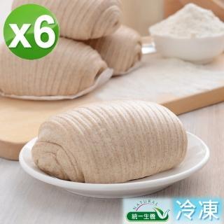 【統一生機】老麵藜麥花捲饅頭6件組(400g/包/共6包)