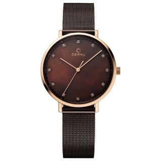 【OBAKU】星光耀眼米蘭時尚腕錶(V186LXVNMN)