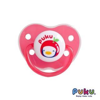 【PUKU藍色企鵝】水果拇指型較大安撫奶嘴(粉色)