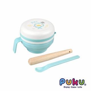 【PUKU藍色企鵝】幼兒離乳研磨器(7件組)