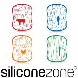 【Siliconezone】施理康四入調理砧板
