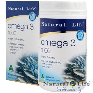 【Natural Life澳洲】高純度深海魚油1000mg(365顆)