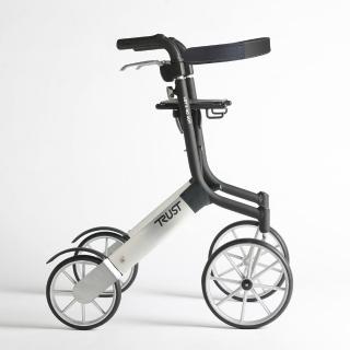 【樂活動】Trust care輕便型戶外型散步助行器(含專用安全背帶、購物袋)