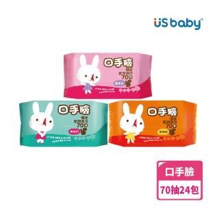 【優生】口手臉柔潤濕巾(70抽24包)