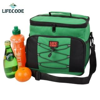 【LIFECODE】歐風保冰袋 /保溫袋/保冷袋(綠色)