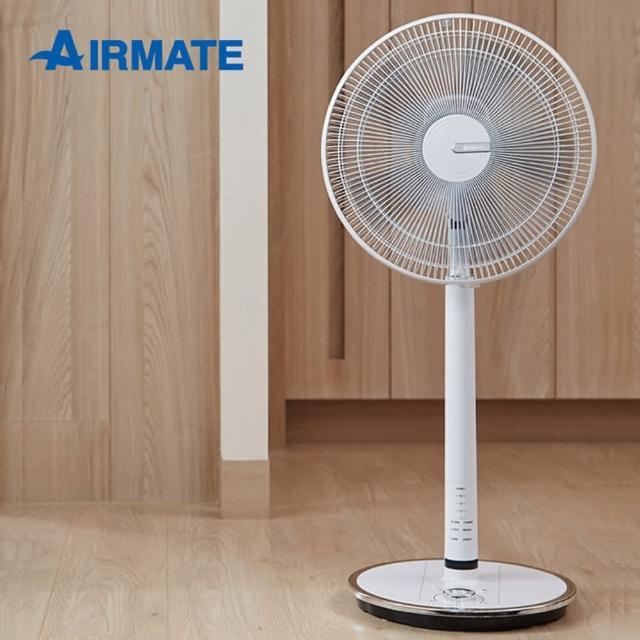 【AIRMATE 艾美特】DC直流馬達14吋遙控立地電扇-白色/AS35130R(**馬達十年保固**)
