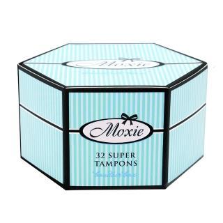 【Moxie 魔晰】衛生棉條 - 量多型(32入/盒)