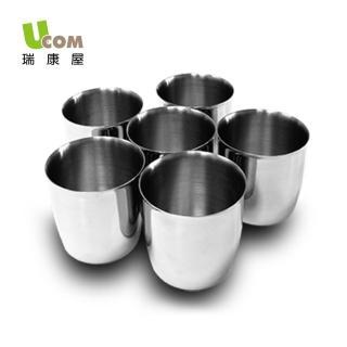 【UCOM 瑞康屋】不鏽鋼茶碗蒸杯6入