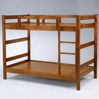 【Homelike】湯米3.5尺雙層床(淺胡桃色)