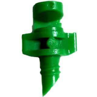 【灑水達人】綠色微霧180度小噴頭一包100個(綠)