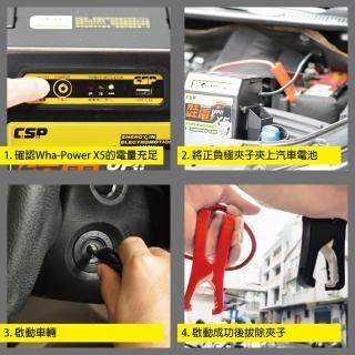 【CSP-X5 WP128】汽柴油車道路救星 USB 5V2A電源輸出(汽車貨車緊急啟動 救車充電 汽車沒電)