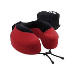 【CABEAU】旅行用記憶頸枕S3-魔力紅